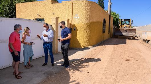El Ayuntamiento invierte 35.000 euros en el camino Bobar Sacramento de La Cañada