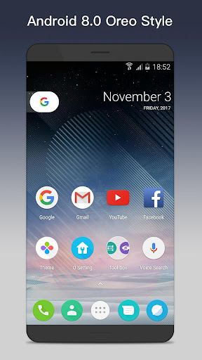 O Launcher 8.0 for Android™ O Oreo Launcher v3.1 [Prime]