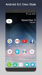 O Launcher 8.0 for Android™ O Oreo Launcher APK screenshot thumbnail 1
