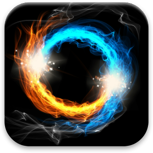 3d Fireflies Live Wallpaper Fire Amp Ice Live Wallpaper Android Apps On Google Play
