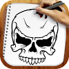 Draw Tattoo Skulls