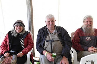 Photo: The Main people there! Karen, Mr and Ian Main