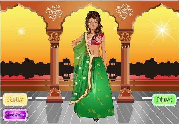 android Indian Bride Dress Up Makeover Screenshot 7