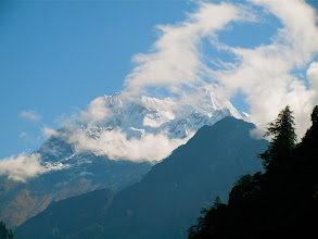 Photo: 8000 meter peak Manaslu