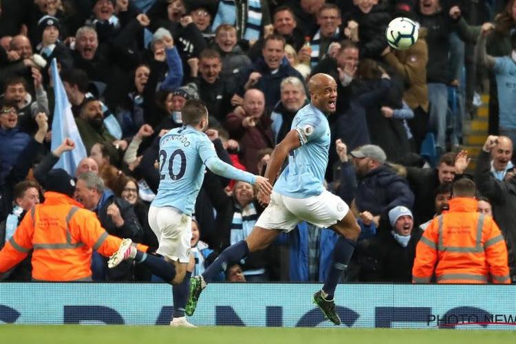 Pegel Kompany verkozen tot goal van het seizoen in Engeland