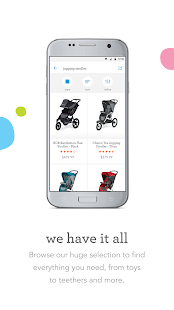 BabiesRUs Registry Screenshot Thumbnail