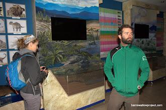 Photo: Georgy's Photo:  Liz and Matt in the Baikal Museum