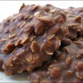 No Bake Cookies (without Peanut Butter!) Recipe