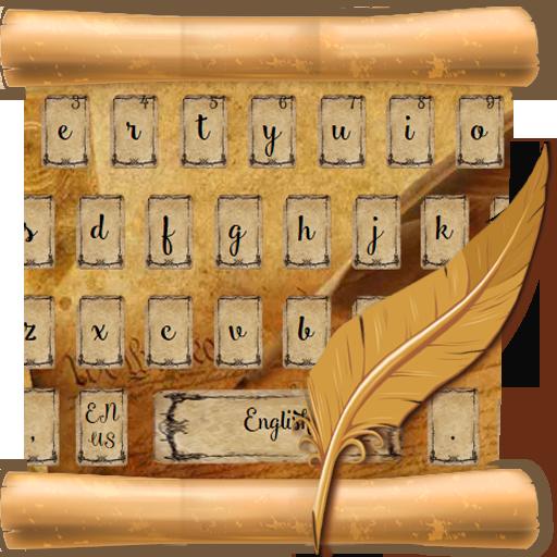 calligraphy keyboard ink pen
