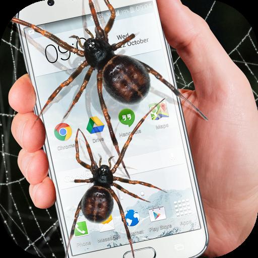 Spider in phone funny joke (app)