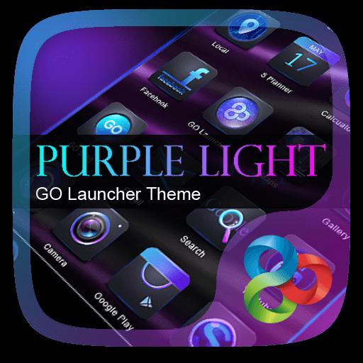 Purple Light GO Launcher Theme