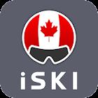 iSKI Canada - Ski, neige, info station, tracking icon