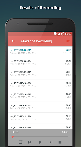 MP3 Voice Recorder 2.3.5 screenshots 2