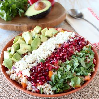 Israeli Couscous & Avocado Salad