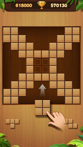 Wood Block Puzzle - screenshot