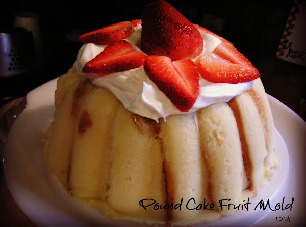Pound Cake Fruit Mold (3 Ingredients) - Video Recipe
