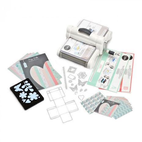 Sizzix Big Shot Plus Starter Kit - My Life Handmade Cardstock & Fabric