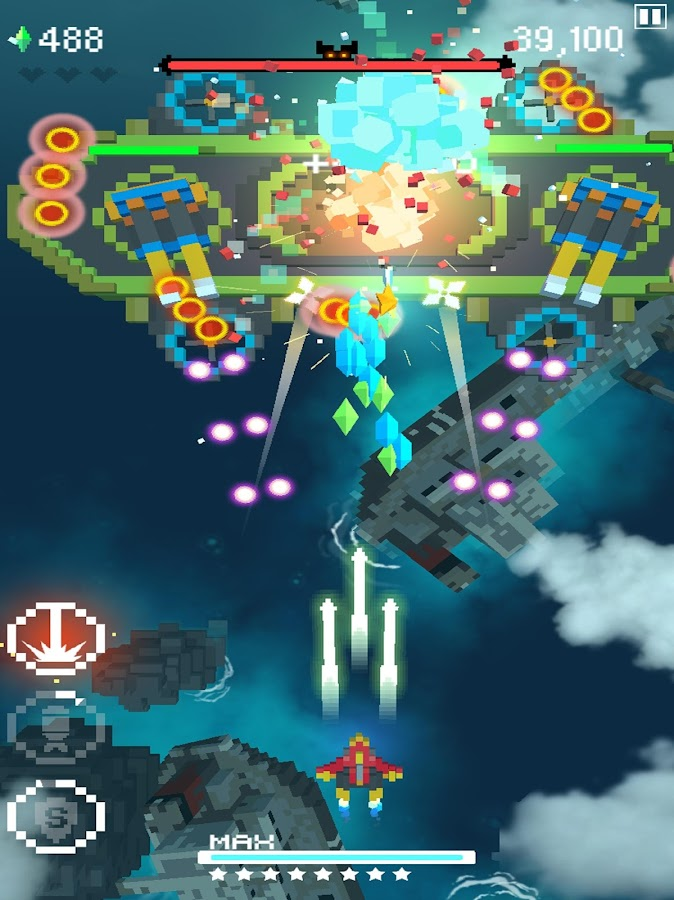Retro Shooting - Pixel Space Shooter- screenshot