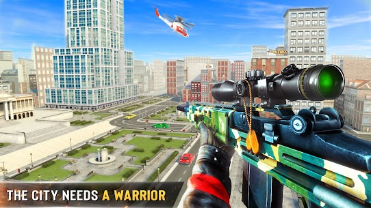 Download New Sniper Shooter Apk – Free offline 3D shooting games 1