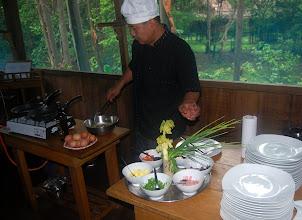 Photo: Breakfast at Muyuna Lodge