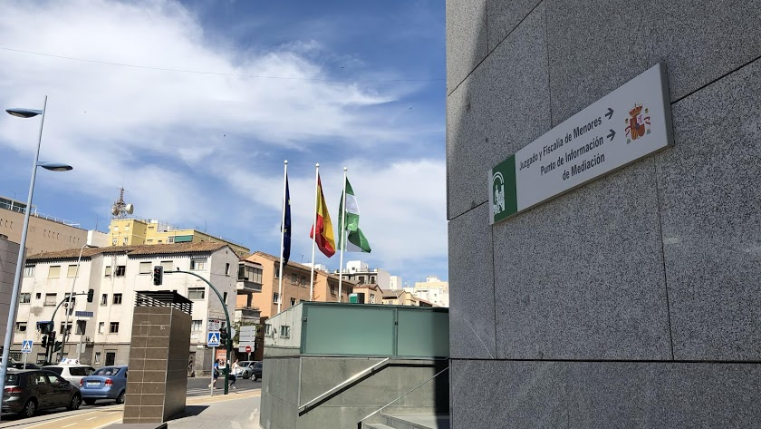 Imagen de archivo de la Ciudad de la Justicia de Almería.