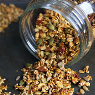 Healthy Pumpkin Granola.