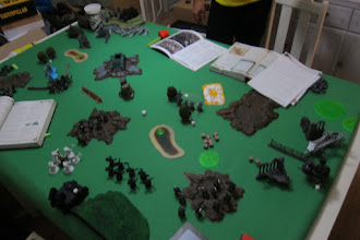 Photo: The state of the battlefield after turn 2.