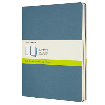 Cahier Journal XL Brisk Blue
