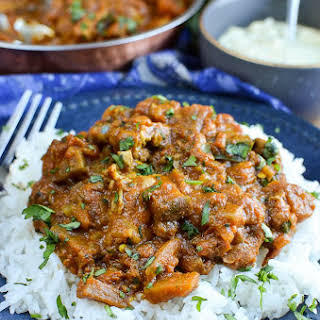 Syn Free Chicken and Eggplant Curry.