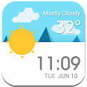 Daily Live Weather Widget εїз icon