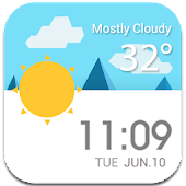 Daily Live Weather Widget εїз