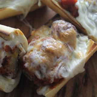Cheesy Meatball Sub Sandwiches