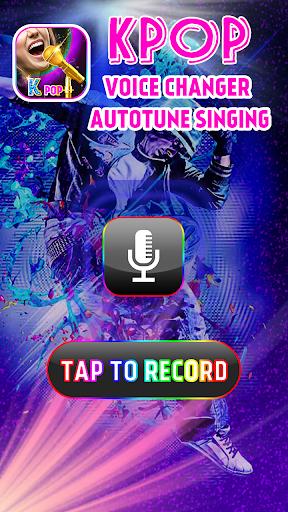 Kpop Voice Changer - Autotune Singing App Report on Mobile
