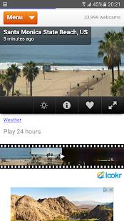Webcams Map - náhled