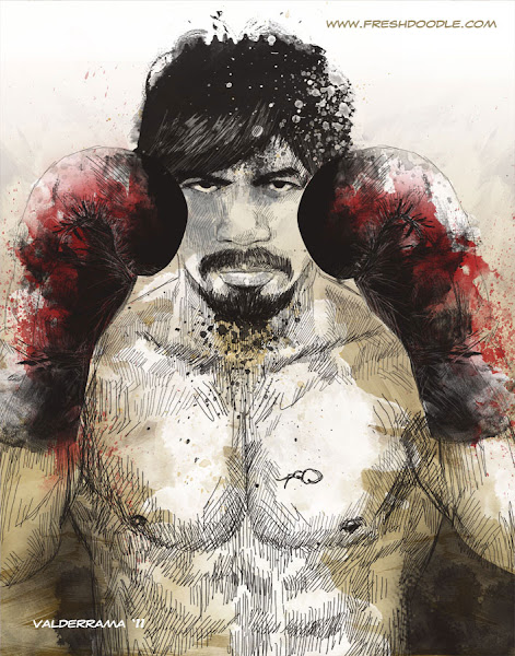 Photo: Pacquiao 04 by the freshdoodle http://thefreshdoodle.deviantart.com/art/Pacquiao-04-207948954