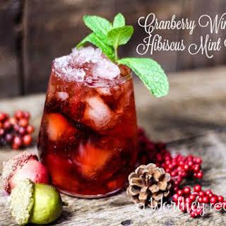 Cranberry Mint Cocktails Recipes.