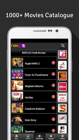 nexGTv HD:Mobile TV, Live TV 3.9 screenshot 220851