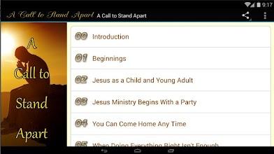 A Call to Stand Apart screenshot thumbnail