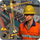 Supermarket Construction simulation:Crane operator