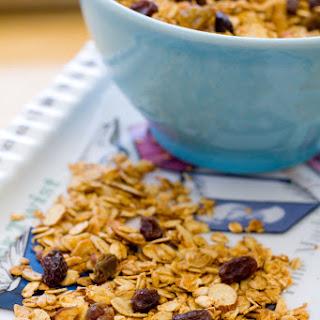 Oatmeal Raisin Cookie Granola