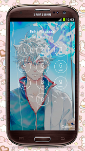 Gintoki Sakata (坂田 銀時) Fan Anime Lock Screen - náhled