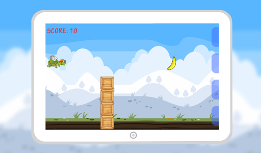 Flying Hungry Turtle Adventure screenshot 4