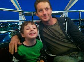 Photo: Clark and Daddy Ferris Wheel