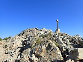 山頂手前の分岐(左へ)