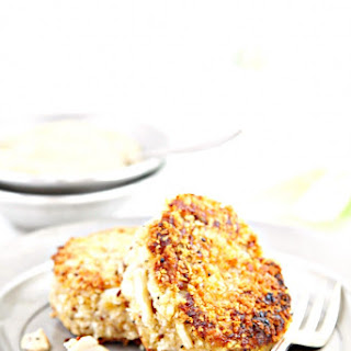 Jumbo Lump Crab Cakes with Mustard Sauce