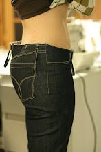 Photo: Usual fitting issue for me...  J'ai toujours ce problème avec les jeans...