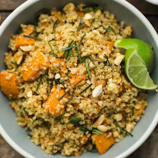 Thai Sweet Potato Quinoa Recipe
