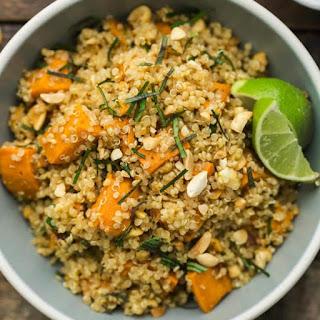 Thai Sweet Potato Quinoa.