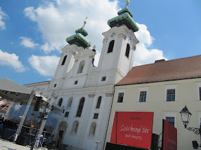 Photo: Day 66 - The City of Gyor - Benedictine Church with two Towers #5