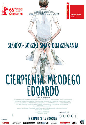 Przód ulotki filmu 'Cierpienia Młodego Edoardo'